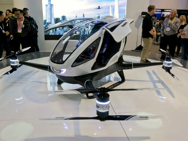 Autonomous Drone Taxis To Take First Flight Later This Year