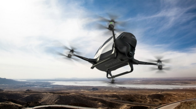 eHANG Autonomous Drone Taxis