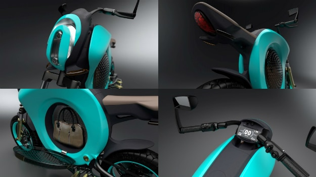 Grasshopper Concept Electric Bike
