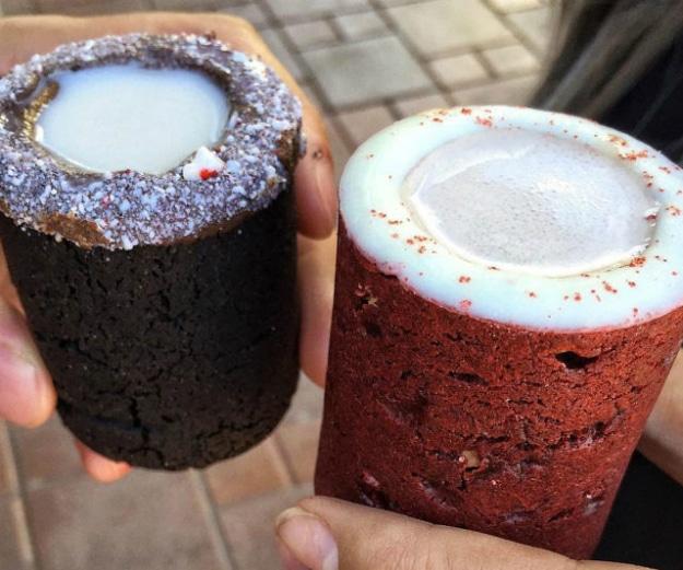 Amazing Edible Cookies And Milk Shot Glasses