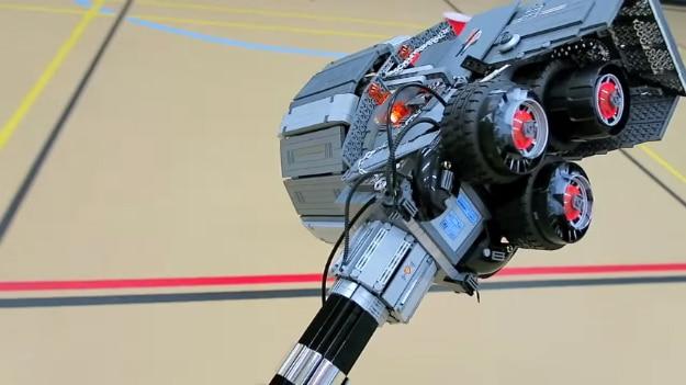 Rocket Hammer Lego Build Overwatch