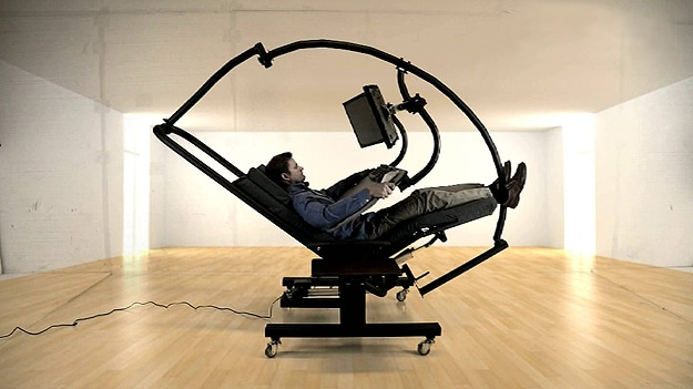 Zero Gravity Workstation Is Every Computer User S Iron