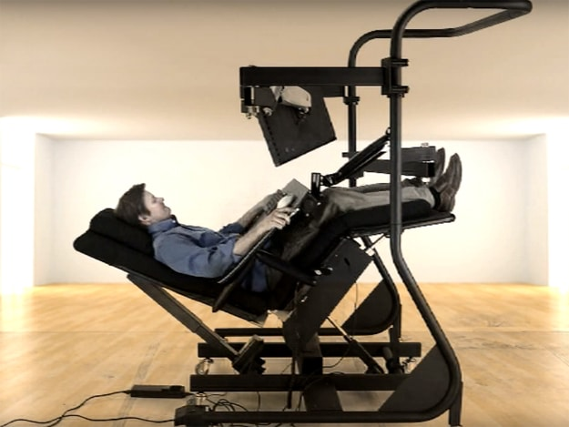 Zero Gravity Workstation Is Every Computer User's Iron Throne