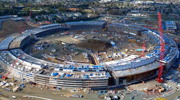 New Aerial Look Of The Apple Campus 2 Reveals Its Massive Scale