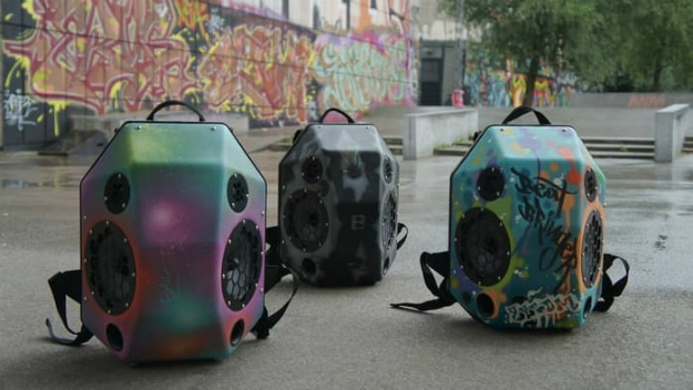 BeatBringer Boombox Backpack Takes Epic To The Streets
