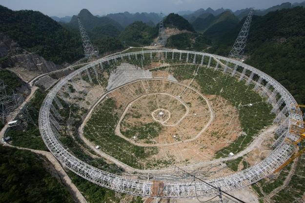China FAST Radio Telescope Beginning