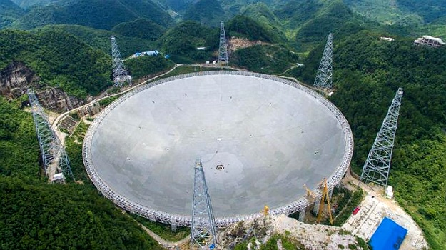 China FAST Radio Telescope Completed