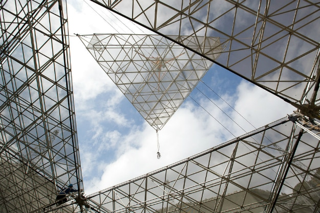 China FAST Radio Telescope Triangle Panel