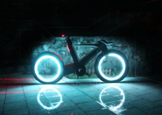 Cyclotron Spokeless Smart Bike Is Your Real Life TRON Bike