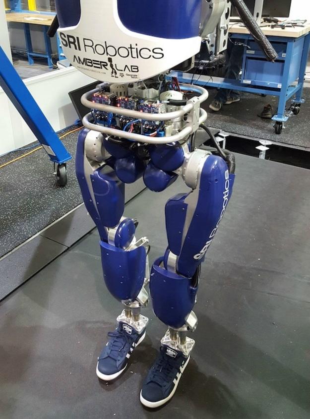 DARPA DURUS Robot Walking Human