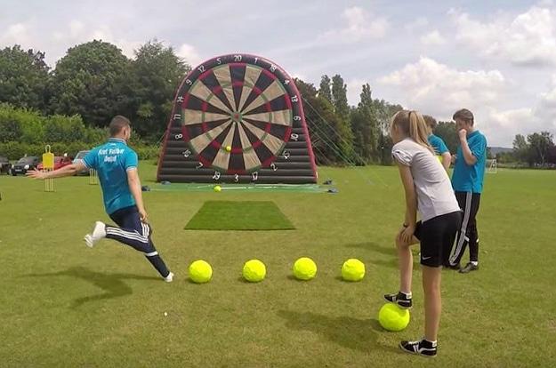 Foot Darts – When Soccer Meets Darts