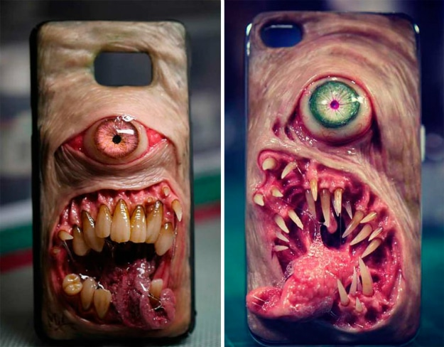 The Scariest Custom Smartphone Cases Ever Made
