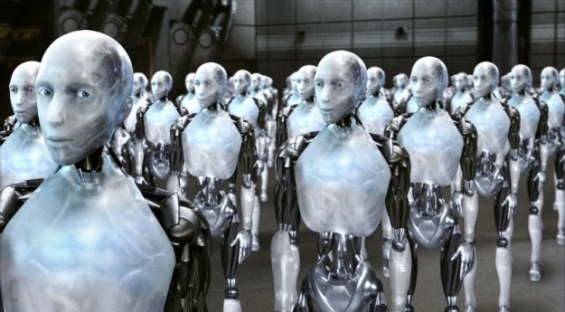 iRobot Artificial Intelligence Machine