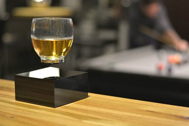 Levitating Glass Kickstarter Project