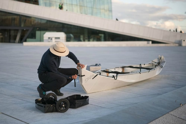 Folding Boat Is Your Canoe In A Suitcase
