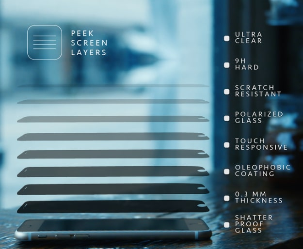 Peek Screen Allows You Total iPhone Privacy In A Public Setting