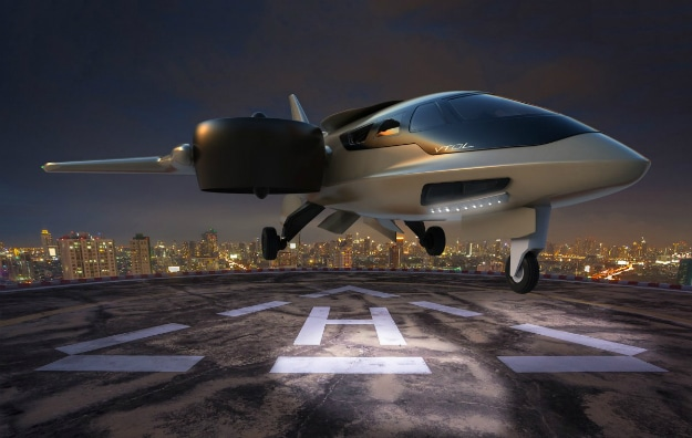 Personal Jet Takes Off Vertically So You Can Keep It On Your Driveway
