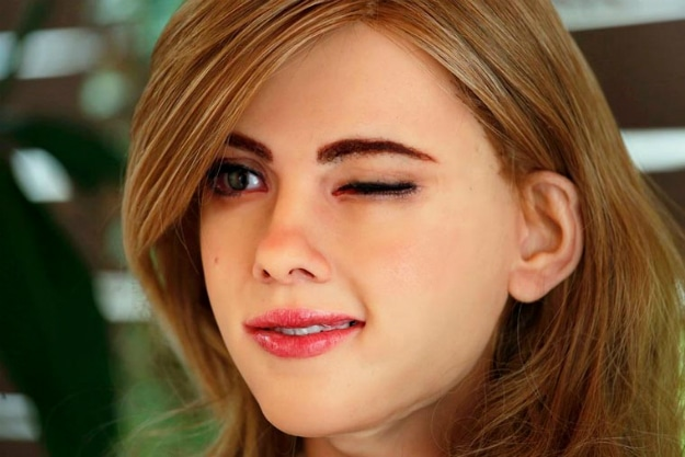 Guy Spends $50,000 On A Robot That Looks Like Scarlett Johansson