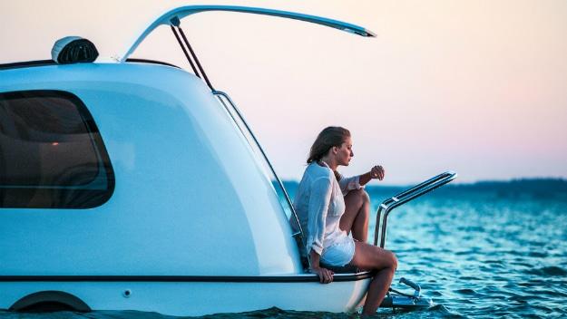 Sealander Camper Boat Vehicle
