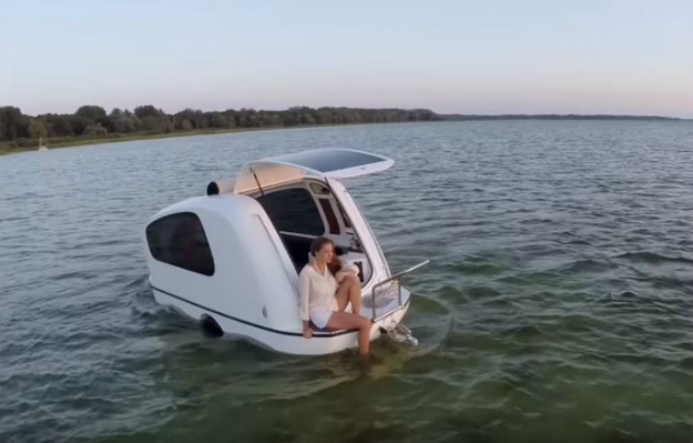 Sealander Camper Boat Vehicle