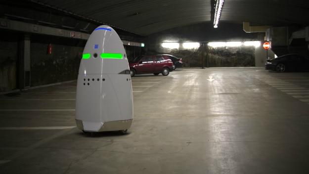 Uber Robot Security Guards
