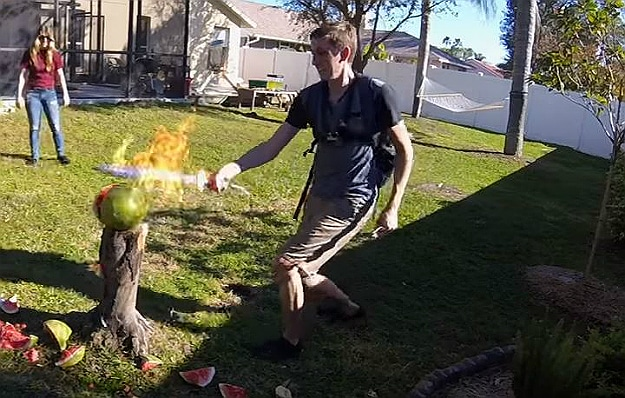 Aluminum Flaming Sword Build