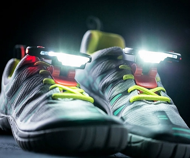 Running Shoe Lights Will Illuminate Your Path