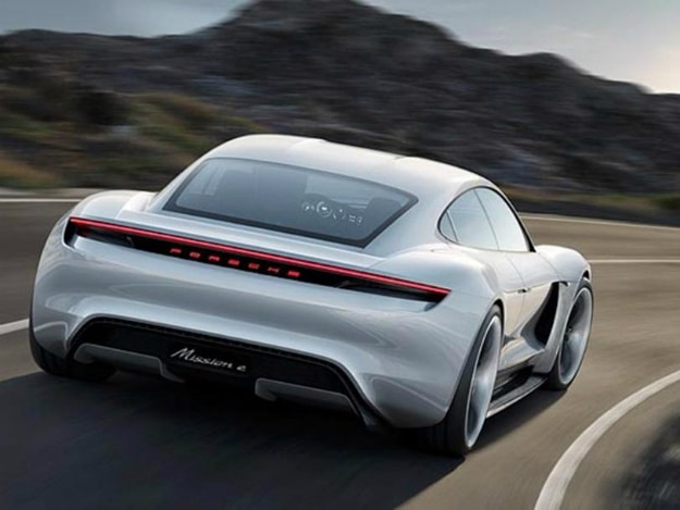 Porsche Goes After Tesla With This Amazing Electric Car