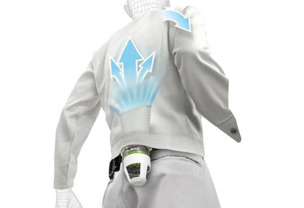 Jacket Cooling System For Hot Summer Days