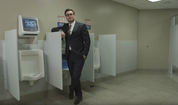 Video Game Urinals Turn Your Bathroom Run Into A High Score