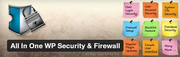All-In-One Wp Security Firewall WordPress Plugin