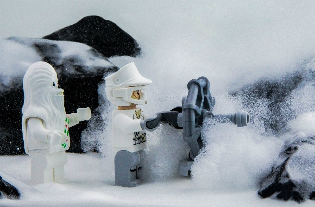 Star Wars LEGO Advent Calendar Dish Canon