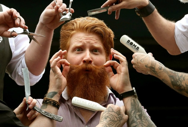 Male Grooming – The Stats, Trends & The Future [Infographic]