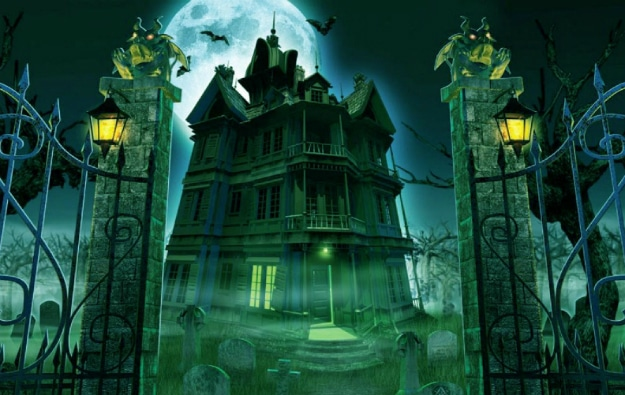 Halloween Spooky House.How To Turn Your Home Into A Spooky Haunted Halloween House
