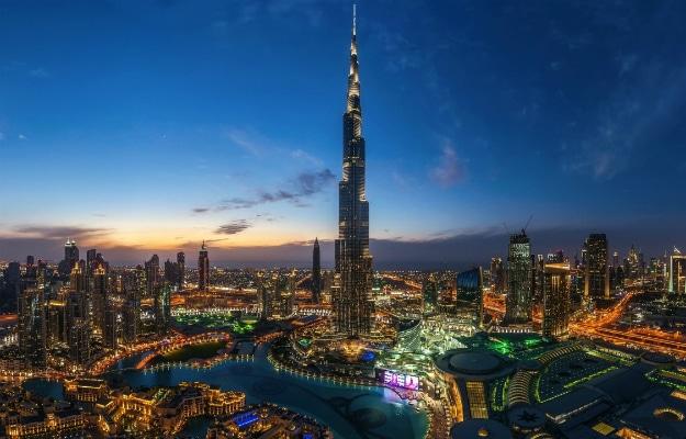 Night Skyline Dubai Header