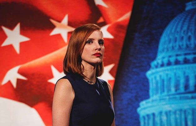 Miss Sloane Movie Review Header