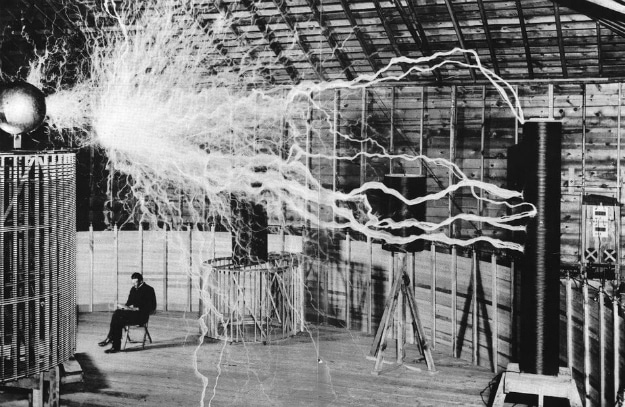 Nikola Tesla Death Ray Experiment