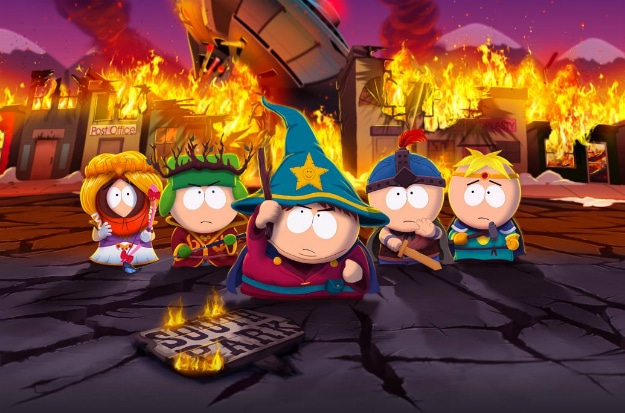South Park Games History Header