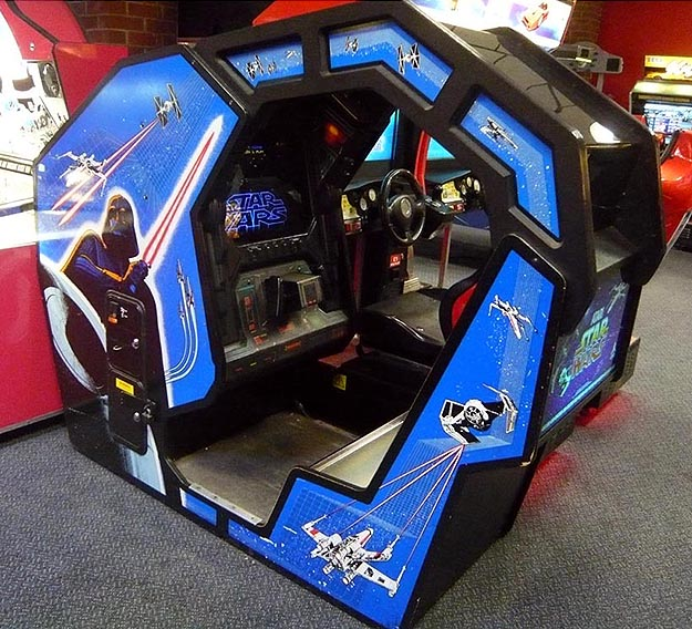Atari Star Wars Cockpit Gaming Setups