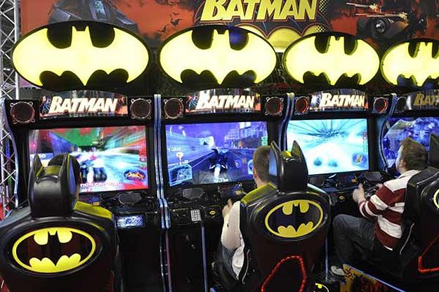 Batman Arcade Machine Gaming Setups