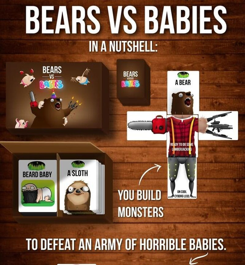 Bears vs Babies Card Games In A Nutshell