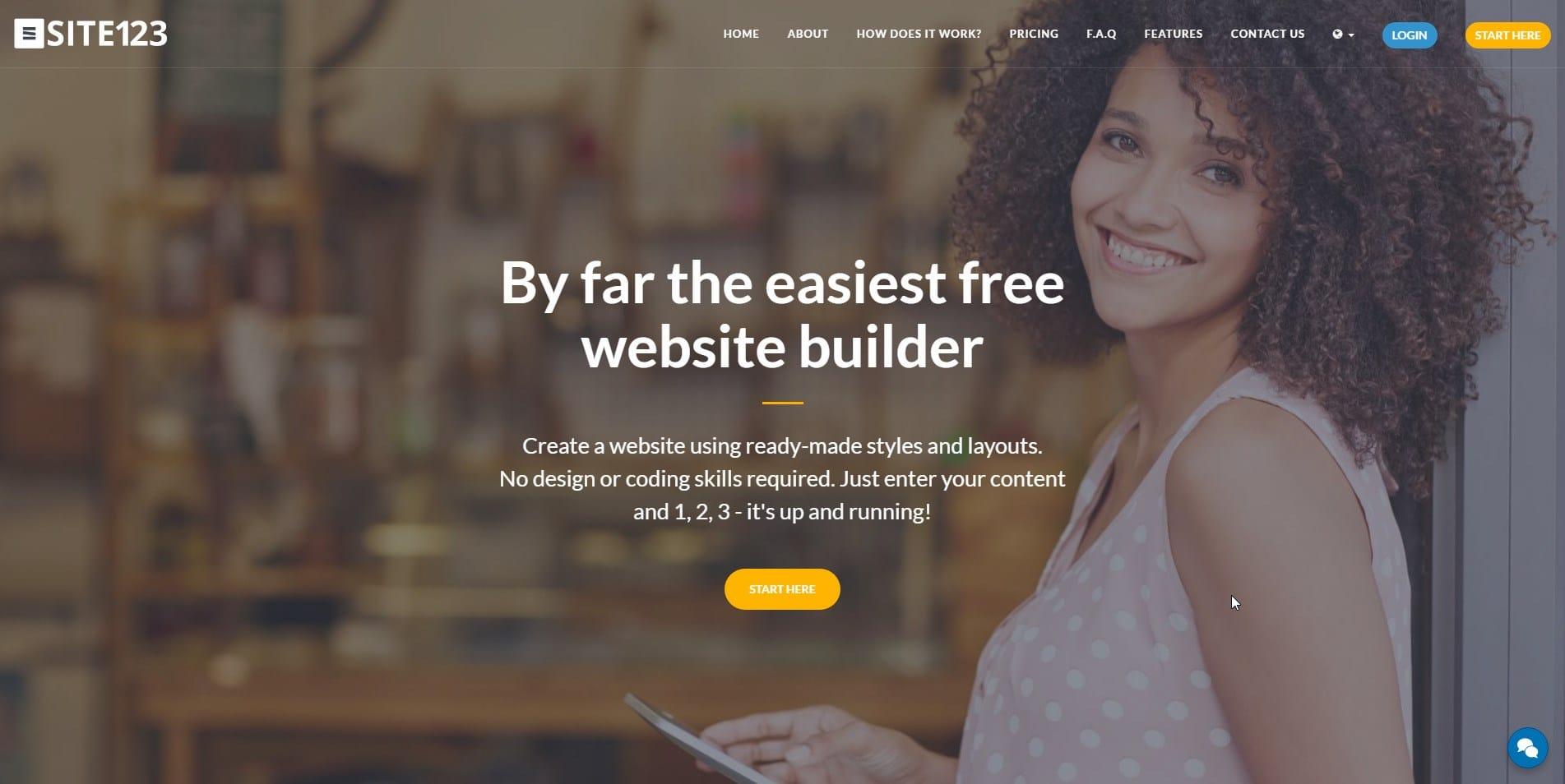 Free Create Website Builder