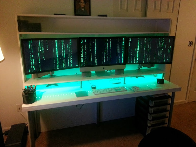 Matrix Tech Room Computer Setup