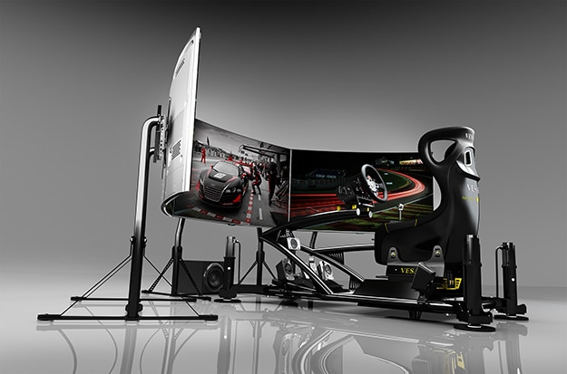 Vesaro Racing Simulator Stage 9 Gaming Setups