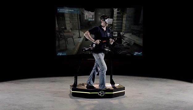 Virtuix Omni Gear Gaming Setups