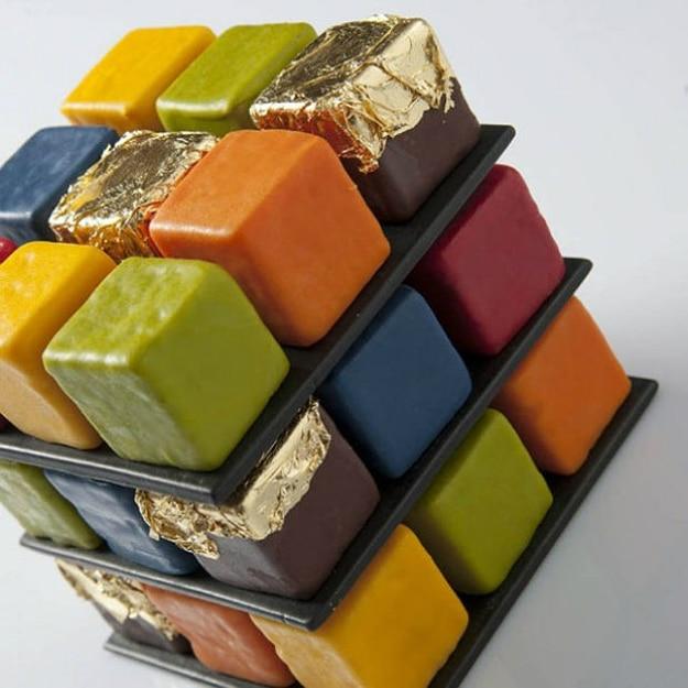 Amazing Rubik's Cake Pastry Creation 3