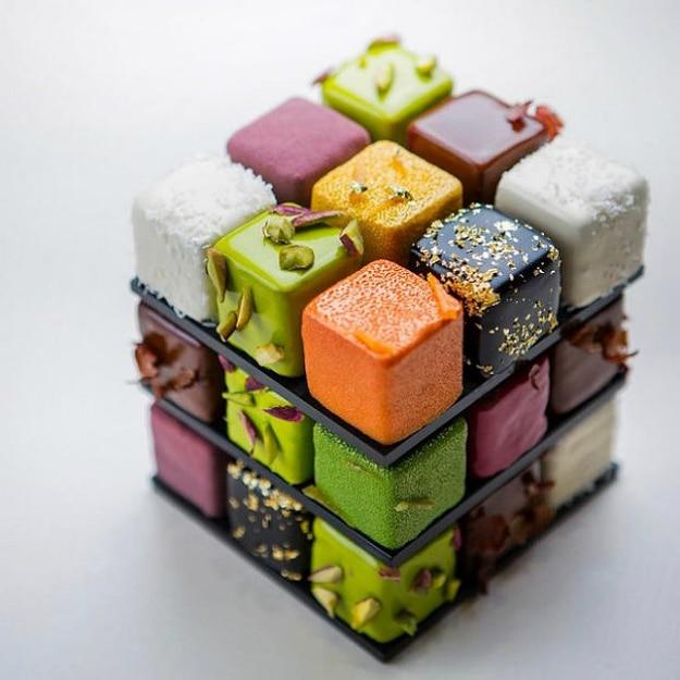 Amazing Rubik's Cake Pastry Creation 4