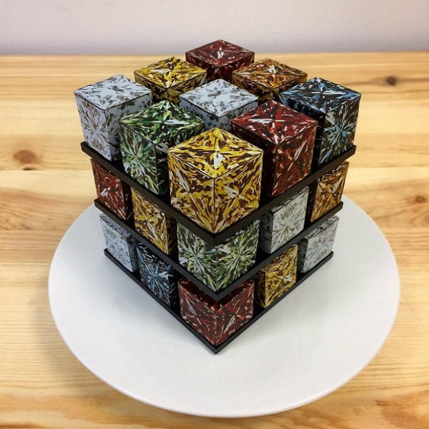 Amazing Rubik's Cake Pastry Creation 5