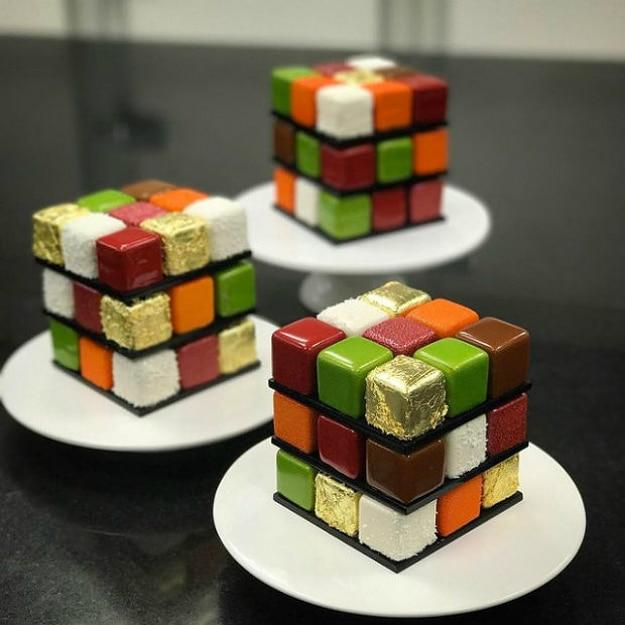 Amazing Rubik's Cake Pastry Creation 6