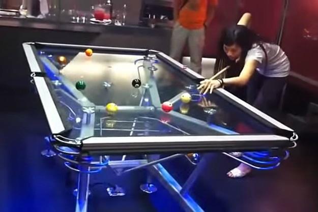 Amazing Transparent Pool Table Header